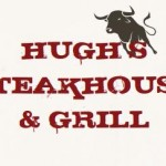 Hughs steakhouse grill logo